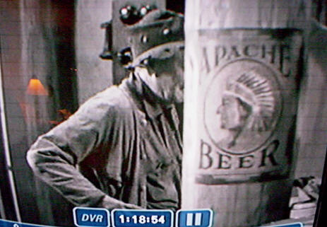 Apache sign in movie.