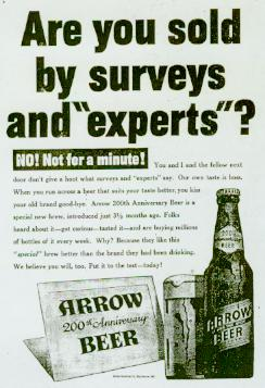 Arrow experts ad, click to see larger.