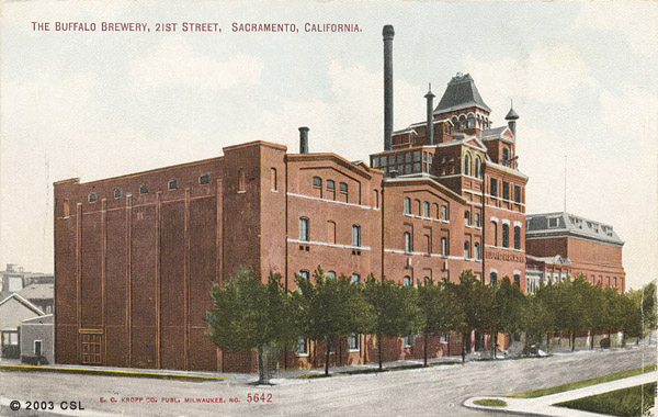 Buffalo brewery photo, circa 1910.