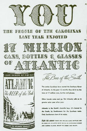 Atlantic ad, June 1955.