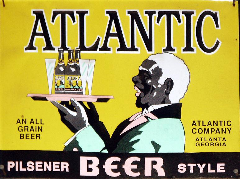 Atlantic beer sign.