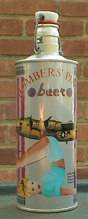 Bombers Pinup Beer.