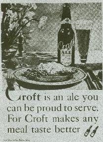 Croft ad number 1, with food.