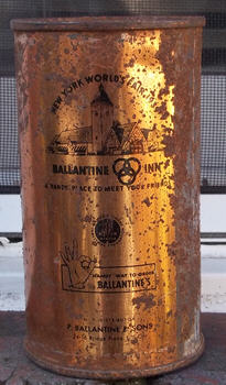Ballantine Ale 1939 can.