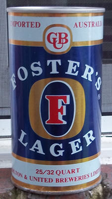 Fosters front.