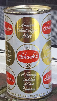 Schaefer can.