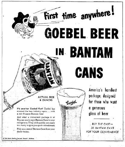 first Bantam ad.