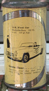 Gretz car can.