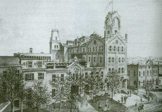 Heurich Brewery in 1883.
