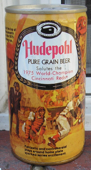 Hudepohl Reds can.