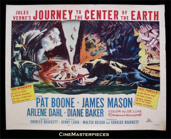 Journey to the Center of the Earth poster.