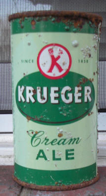 Krueger Ale can.