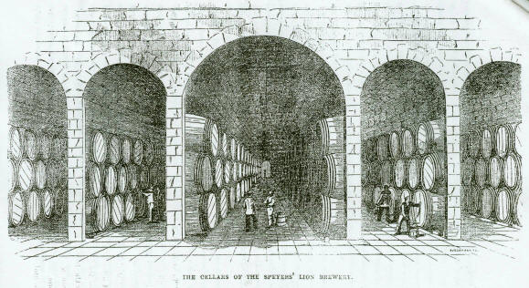 Lion Brewery-cellars.