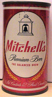 Mitchell's Beer, front.