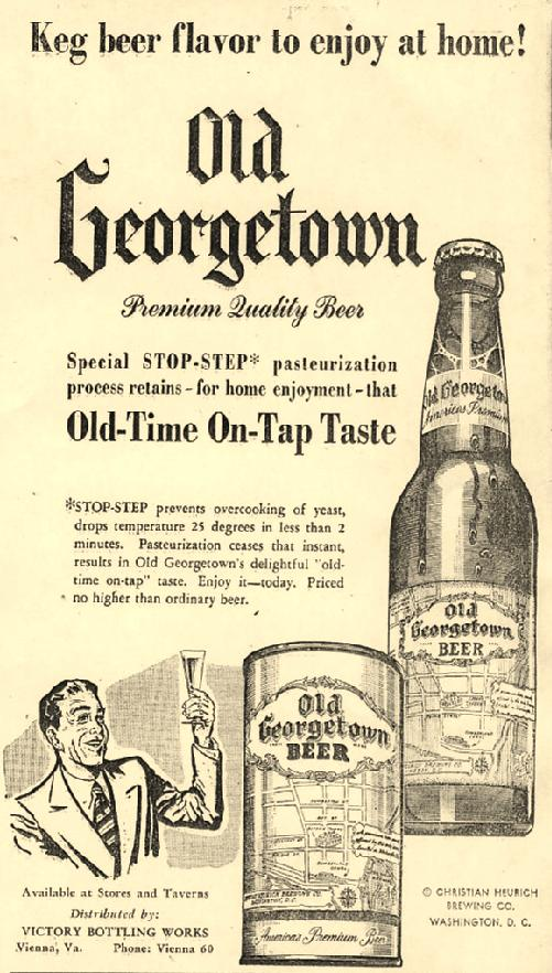 Old Georgetown ad.