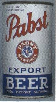 early Pabst Can.