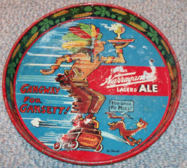 Dr. Seuss beer tray.