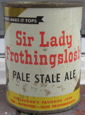 Sir Lady Frothingslosh.