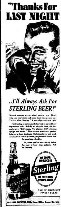 Sterling ad.