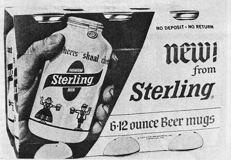 Sterling Bottle ad.