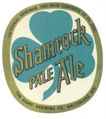 Shamrock label.