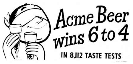 Acme 6 to 4 ad.