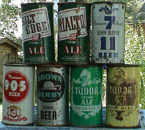 Various Store brand Cans