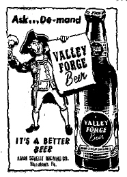 Valley Forge 1951 ad.